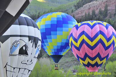 Kissing Balloons Launch