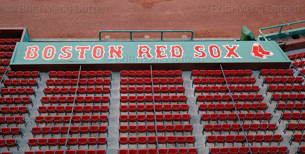 June 2, 2011, Boston, MA: Photos taken at Fenway Park from 7 PM to 1 AM during a shoot for the 100 Years of Fenway Park book project. (Brita Meng Outzen/Boston Red Sox)