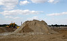 Feb. 16, 2011, Fort Myers, Fla.: A seagull guards the future location of third base, now covered by a giant mound of dirt at the new Red Sox Spring Training Ballpark and Player Development Complex located on Daniels Parkway. The new Complex is slated to open in 2012. (Brita Meng Outzen/Boston Red Sox)