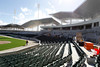 Nov. 17, 2011, Fort Myers, FL: Construction workers install seats at JetBlue Park at Fenway South, the new Boston Red Sox spring training complex. (Brita Meng Outzen/Boston Red Sox)
