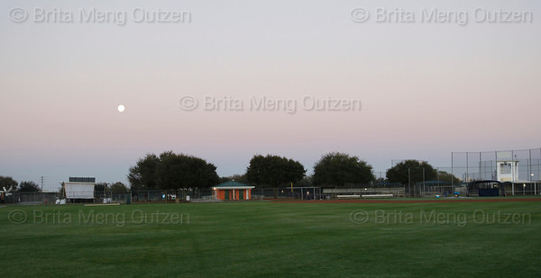 Feb. 19, 2011, Fort Myers, FL: The Boston Red Sox hold their final spring training workouts at the standalone player development complex on Edison Avenue. (Brita Meng Outzen/Boston Red Sox)