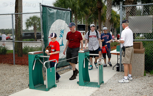 - FORT MYERS, FL  Feb. 25, 2011 -<br /> <br /> The Boston Red Sox hold their final major league spring training workout at the Player Development Complex in Fort Myers.<br /> <br /> (Brita Meng Outzen/Boston Red Sox)Feb. 25, 2011, Fort Myers, FL: The Boston Red Sox hold their final spring training workouts at the standalone player development complex on Edison Avenue. (Brita Meng Outzen/Boston Red Sox)