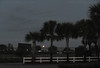 Feb. 18, 2011, Fort Myers, FL: The moon is still visible over Field 1 in the early morning before Boston Red Sox spring training workouts at the standalone player development complex on Edison Avenue. (Brita Meng Outzen/Boston Red Sox)