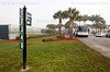 Feb. 22, 2011, Fort Myers, FL: Fans file into the player development complex to watch Boston Red Sox spring training workouts after taking the shuttle bus from City of Palms Park farther down Edison Avenue. (Brita Meng Outzen/Boston Red Sox)