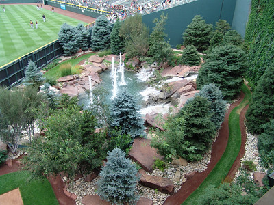 Coors Field Fountains