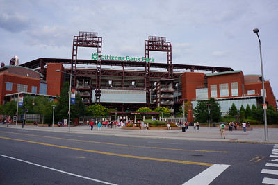 Outside of Citizens Bank Park