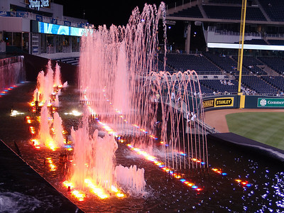 Kauffman Stadium Fountains