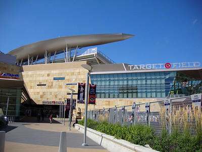 Main Entrance to Target Field