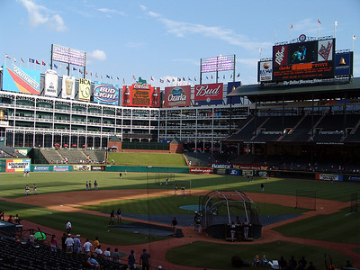 The Ballpark in Arlington- Texas Rangers