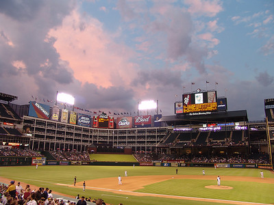 Texas Rangers Night Game