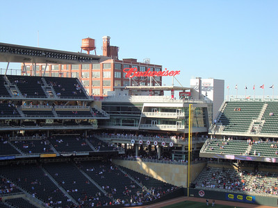 Left Field at Target Field