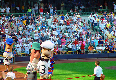 Sausage Race in Milwaukee