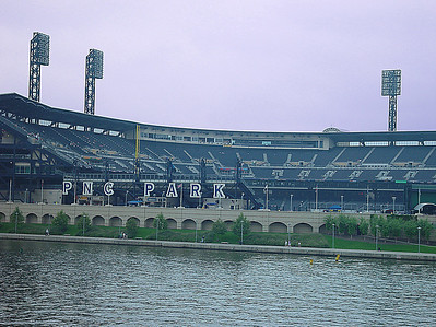 PNC Park from the Roberto Clemente Bridge