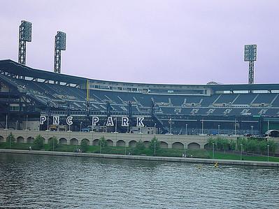 PNC Park from the Roberto Clemente Bridge