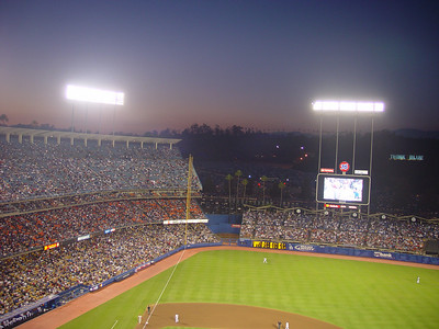 Dodger Stadium- My least favorite stadium- Go Giants!!!!
