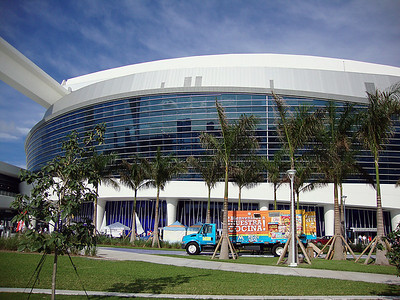 Outside of Marlins Park