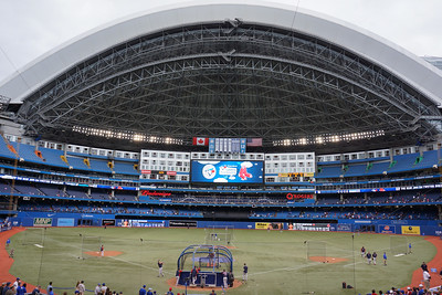 Rogers Center Dome Open