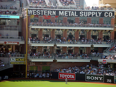 Petco Park, Western Metal Supply  Co Building