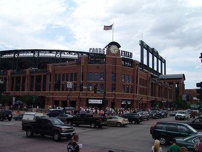 Outside of Coors Field