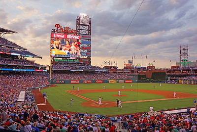 Citizens Bank Park Sunset