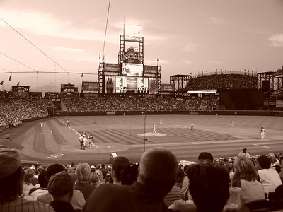 Coors Field View from our seats