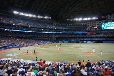 Rogers Center when the dome is closed