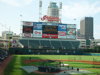 Progressive Field in Cleveland (Formerly Jacobs Field)