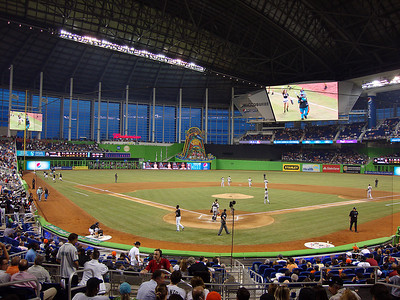 Marlins Park from Home Plate