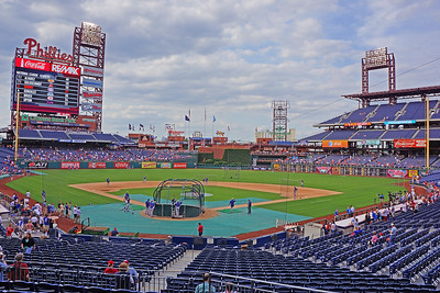 Citizens Bank Park from the Lower Deck