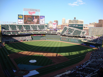View from the Upper Deck at Target Field