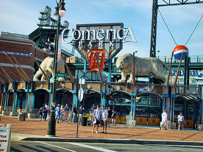 Comerica Park Outfield Entrance