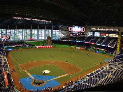 Marlins Park from the Upper Deck