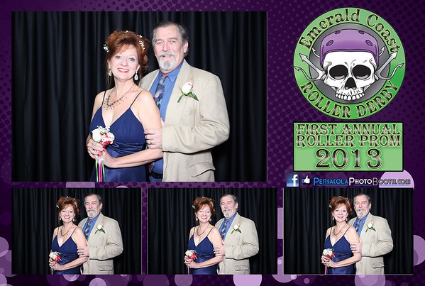 Emerald Coast Roller Derby 1st Annual Roller Prom 08-31-2013