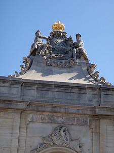 Christiansborg Palace gates