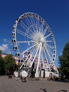 Touring Copenhagen...Scandinavia's largest ferris wheel