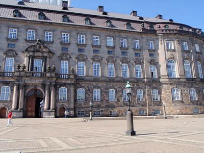 Back of palace