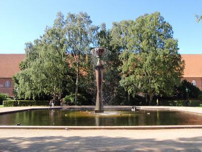 Christiansborg gardens