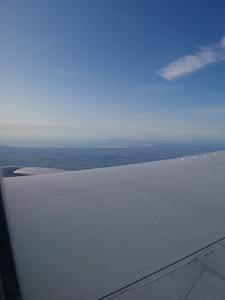 Flying into Copenhagen