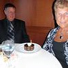 Peg and Mo's wedding anniversary cake!