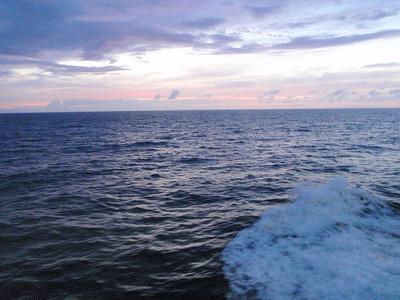 Day 1: At Sea