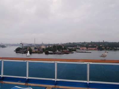 Arriving in Stockholm!