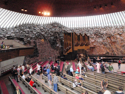 The church is often used for concerts because of the excellent acoustics.