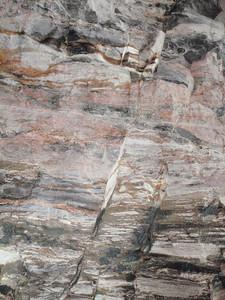 Walls are jagged rock