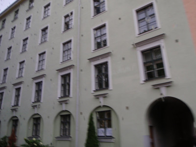 Typical apartment building