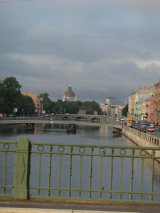 Many canals and rivers in the city
