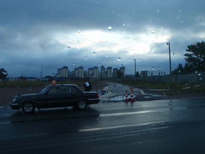 Our tour of St. Petersburg started at 7:30AM with a drive from the cruise ship dock into the city.