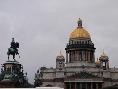 St. Isaac's Cathedral - 4th largest cupola cathedral in the world.