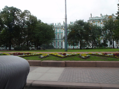 Quick view of the Hermitage from the van