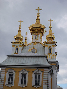 Domes of the Peterhof Palace Chapel
