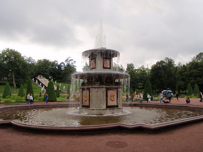 Another beautiful fountain at Peterhof